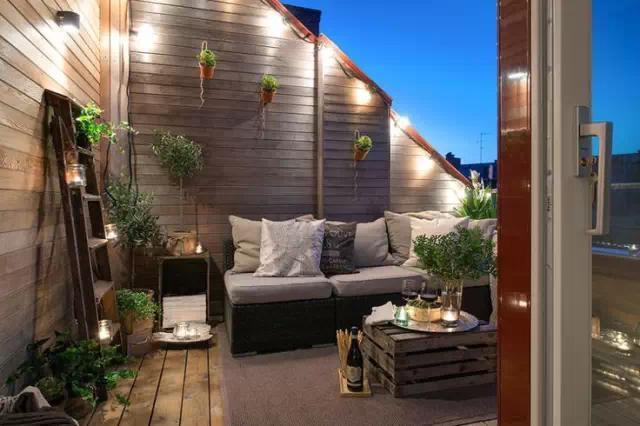 沈阳别墅装修创意阳台设计
