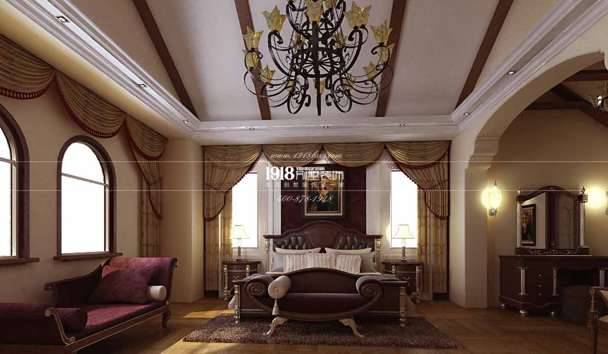 欧美大多是开放式厨房设计,并且美式装修又偏爱复古风。所以,厨房吧台的仿砖墙纸非常有小酒吧的感觉。三盏简约的白色灯光吊灯,明亮的像一颗颗星星。但是小编觉得最大的亮点应该是带有复古绣花的桌布,以及吧台旁漏出斑驳铁锈的做旧凳子。真的是大俗即大雅。舒适就是最好的家居设计。
